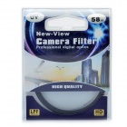 New-view Camera Lens Filtro UV (58 milímetros)