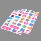 Colorful Cloth Pattern Vacuum Storage Bags (Pair)