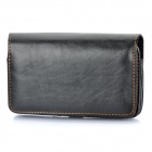 Protective Leather Waist Bag Case for Samsung Galaxy Note i9220 / GT-N7000 - Black