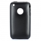 Protective Stylish Back Case for iPhone 3GS - Black