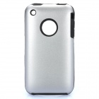 Protective Stylish Back Case for iPhone 3GS - Silver