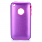 Protective Stylish Back Case for Iphone 3gs - Purple