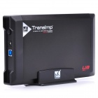 "USB 3.0 Hard Disk Drive Enclosure External Case for 3.5"" SATA HDD - Black"