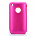 Protective Stylish Back Case for Iphone 3gs - Deep Pink