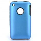 Protective Stylish Back Case for Iphone 3gs - Blue