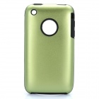 Protective Stylish Back Case for Iphone 3gs - Green