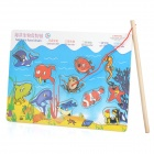 Wooden Magnetic Fishing Game Toy