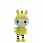 Cute Sound Recording Pineapple Fruit Rabbit Plush Doll Toy (3 x AG13)