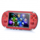"4.3"" LCD Media Player Game Console w/ FM / TF / TV-Out / 1.3MP Camera (4GB)"