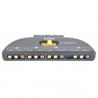 5-Port AV Audio Video Switcher (4-IN/1-OUT)