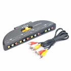 5-Port AV Audio Video Switcher (4-IN / 1-OUT)