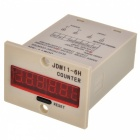 "JDM11-6H Digital Cumulative Counter with 1.8"" LED Display"