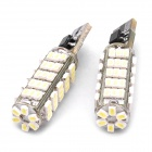 T10 0.5Wx66 1206-SMD LED 792LM White Light Car Door / Reading Lamp (DC 12V / Pair)