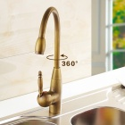 Vintage Copper Sink Faucet Water Tap for Kitchen - Bronze