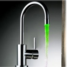 3-Color 6-LED Digital Water Temperature Visualizer Faucet Water Tap for Kitchen