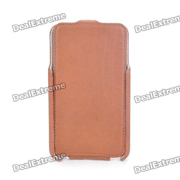 ROCK Protective Leather Case Pouch for Samsung i9220 - Coffee