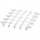 Stainless Steel Square Pot Holder Hot Pad Heat Insulation Pad - Silver