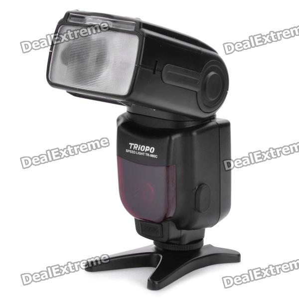 genuine-triopo-980c-ttl-flash-speedlite-with-diffuser-for-canon-600d-60d-5d-mark-ii-4-x-aa