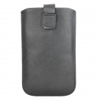 Protective PU Leather Case Pouch w/ Stylus for Samsung Galaxy Note i9220 - Black