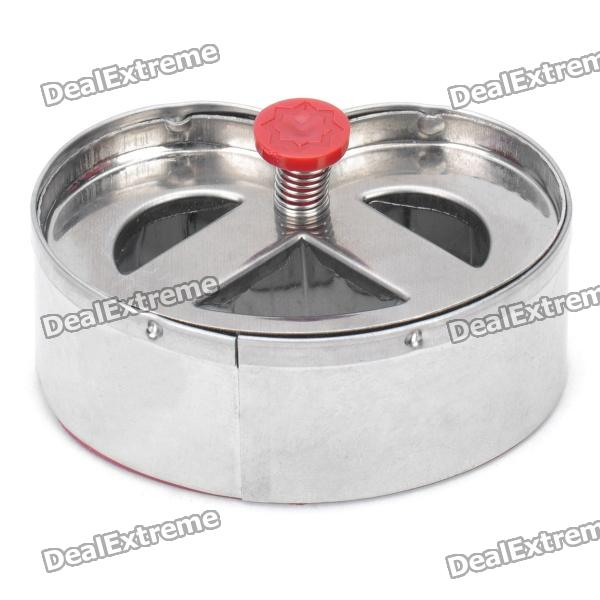 Stainless Steel + ABS DIY Cookie Cutter - Silver kitchen pastry tools diy white plastic dumpling mold maker