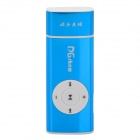 2-in-1 USB Network Online TV Dongle + MP3 Player w/ TF Slot - Blue