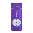 2-in-1 USB Network Online TV Dongle + MP3 Player w/ TF Slot - Purple