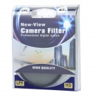 Genuine New-View CPL Polarizer Lens Filter (67mm)