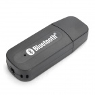 USB Bluetooth V2.0+EDR Adapter with 3.5mm Audio Jack - Black
