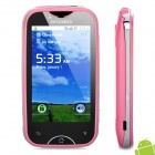 "A6000 Android 2.3 Smartphone GSM w / 3,2 ""-Touchscreen, Dual SIM, TV, WLAN und GPS - Pink"