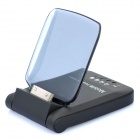 1800mA Power Battery Dock Station for iPhone 4 / 4S - Black