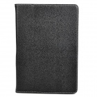 Designer's Protective Cow Leather Case for Samsung P7510 - Black