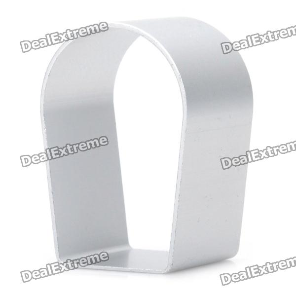 Cute Arch Bridge Shaped Aluminum Alloy DIY Biscuit Cookie Cutter Mould - Silver