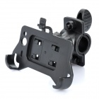 Plastic Bicycle Bike 360-Degree Swivel Mount Holder for HTC Wildfire S G13 - Black