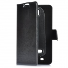 Protective PU Leather Case for Samsung Galaxy Note i9220 N7000 - Black