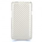 Protective Carbon Fiber Case for Samsung i9103 - White