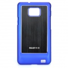 Protective Back Case for Samsung i9100 Galaxy S2 - Blue