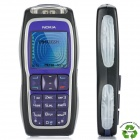 "Refurbished Nokia 3220 GSM Barphone w/ 1.5"" LCD, Triple Band, JAVA and Light Effects - Blue + Black"