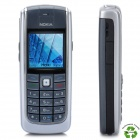"Refurbished Nokia 6020 GSM Cellphone w/1.8"" LCD Screen, Tri-Band, JAVA and FM - Grey + Silver"