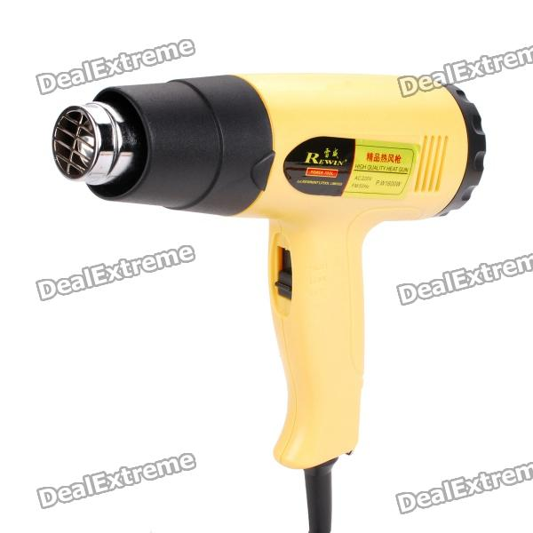 Rewin 1600W Electric Hot Air Heat Gun (220V) 2014 rushed ems dhl fast shipping leister 380 440v 5 6 7kw heat element for for hot air plastic gun welding accessories