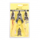 Rewin Snap Ring Plier with 4 Changeable Tips - Yellow + Black