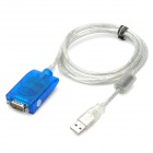 USB 2.0 to RS232 Serial Port Adapter Cable (136CM-Length)