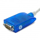 USB 2.0 a RS232 Serial Port Adapter Cable (136cm de longitud)