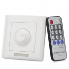 Light Dimmer Brightness Switch Panel w/ Remote Control (AC 110~230V)