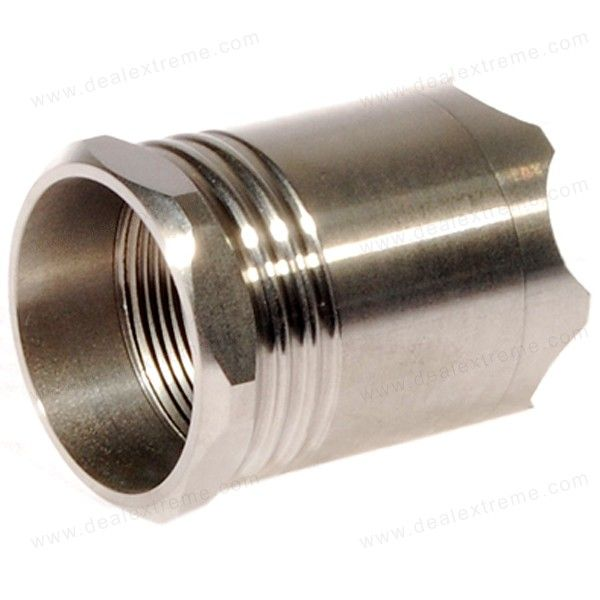 Stainless Steel Assult Crown Head for SolarForce Flashlights
