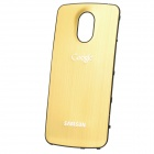 Replacement Wire Drawing Aluminum Alloy Back Battery Cover for Samsung i9250 Galaxy Nexus - Golden