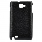 Protective PC Back Case for Samsung i9220 / Galaxy Note / N7000 - Black