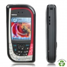 "Refurbished Nokia 7610 Symbian S60 GSM Barphone w/2.1"" TFT LCD, Triple Band and JAVA - Red + Black"