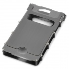 Wonderful iNox Stainless Steel iPhone 4/4S Case - Grey