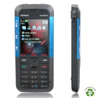 "Refurbished Nokia 5310 XpressMusic GSM Barphone w/ 2.0"" LCD, Triple Band, FM and Java - Blue + Black"