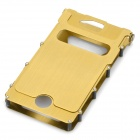 Wonderful iNox Stainless Steel iPhone 4/4S Case - Gold